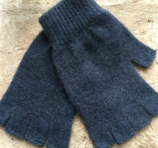 Fingerless Possum Wool Gloves